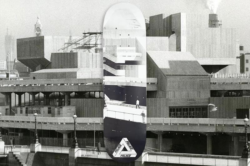 Palace 通過銷售限定滑板為傳奇滑板公園 Southbank 募得 £51,000 英鎊資金