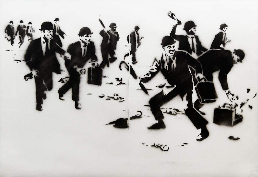 獨家: 率先走進台北「Banksy: 叛逆有理」作品展