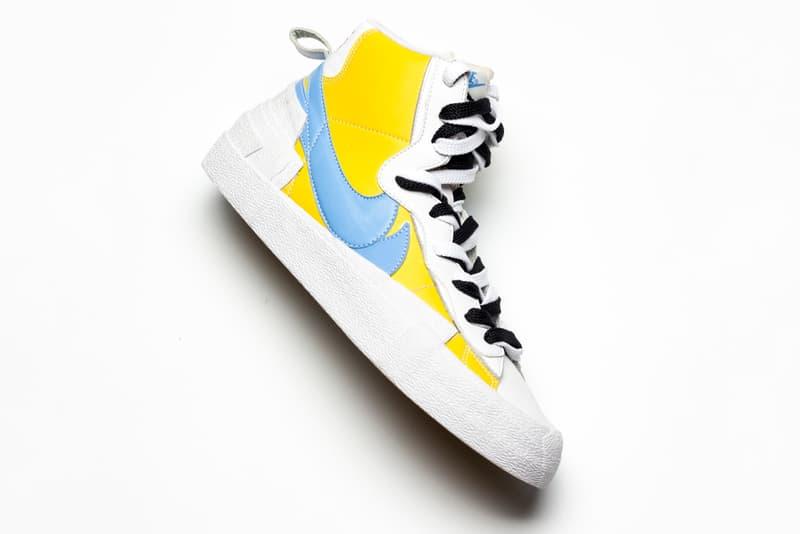 率先近賞 Sacai x Nike「Blazer With the Dunk」最新配色設計