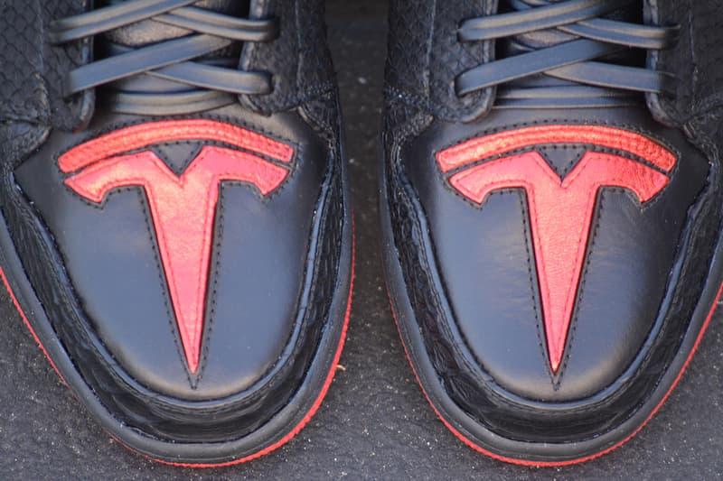 Elon Musk 親自穿用!率先近賞 Air Jordan 1「Tesla」鞋款