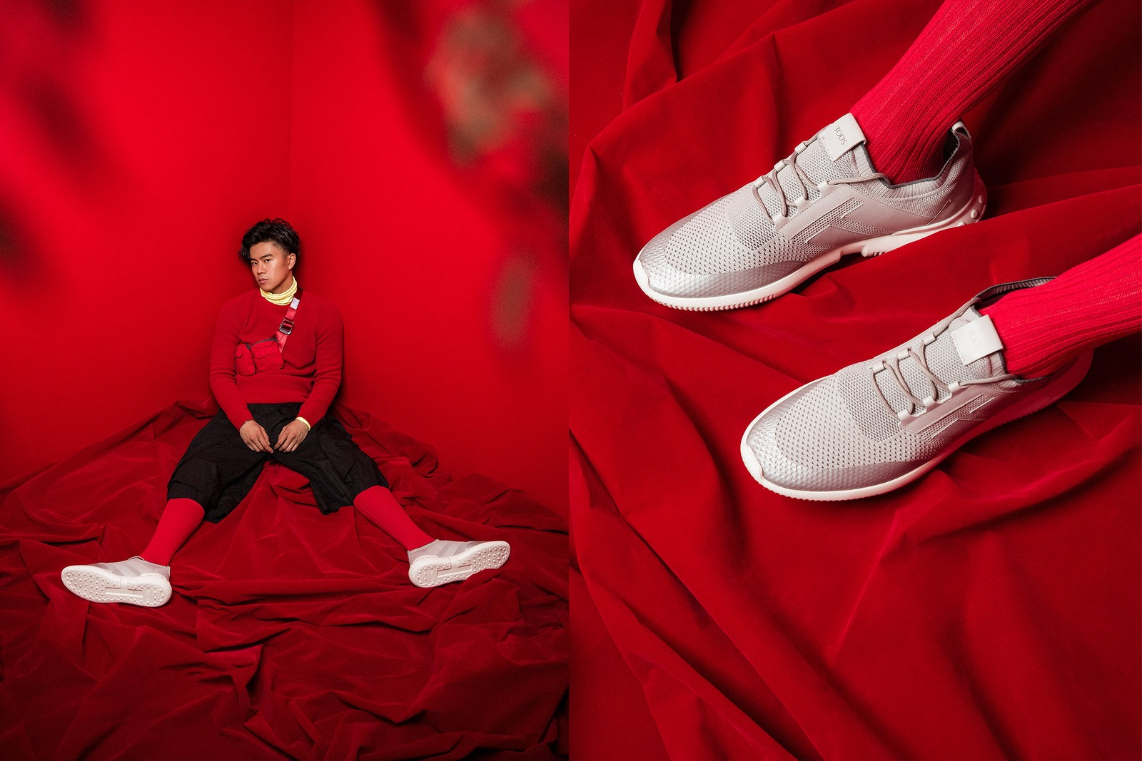 Kevin 廖柏雅以音樂風格演繹 TOD'S NO_CODE 最新鞋履作品