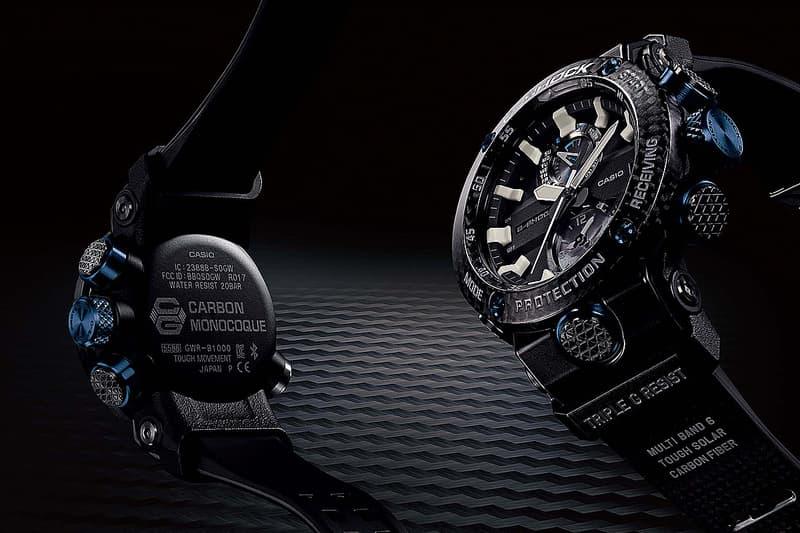 究極強度-G-Shock 發佈全新碳纖物料 GRAVITYMASTER 手錶