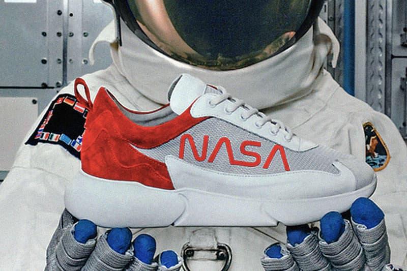 Mercer Amsterdam x NASA 別注版 W3RD 跑鞋