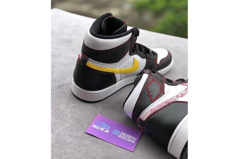Air Jordan 1 推出「拆剔版」Dynamic Yellow 全新配色