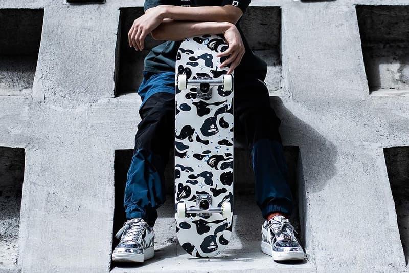 猿滑態度-A BATHING APE® 推出 Space Camo Skateboard