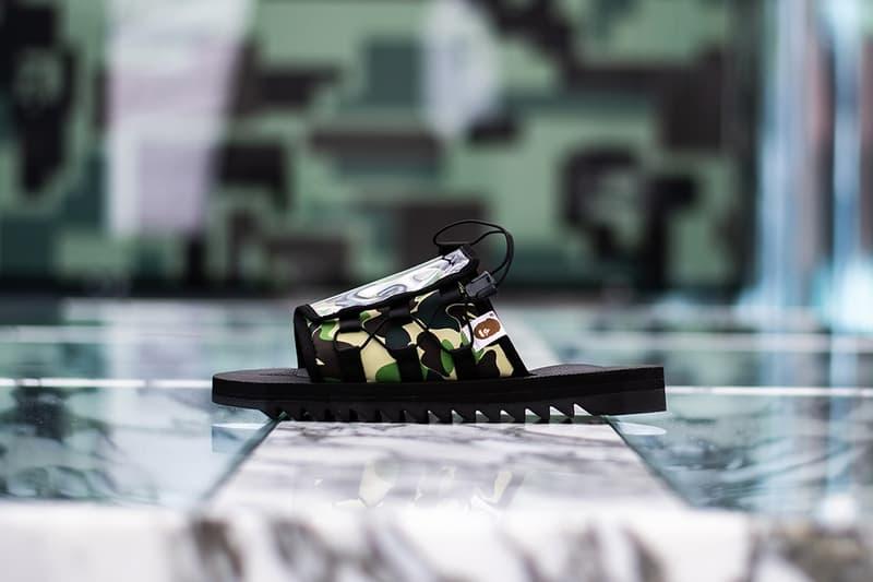 A BATHING APE® x SUICOKE 二度聯乘系列發佈