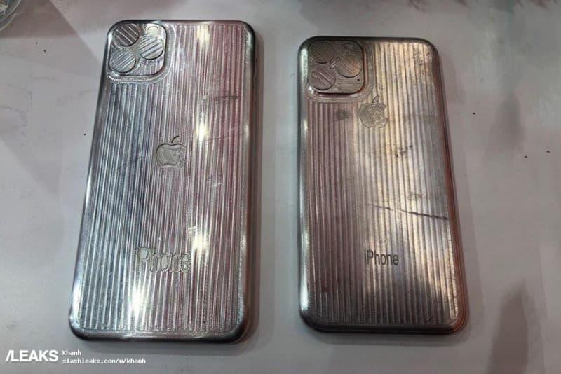 三鏡頭天下-Apple iPhone XI 型號製作模具洩露