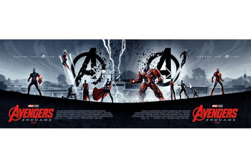 Marvel Studios《Avengers: Endgame》獨家 Odeon 戲院海報釋出