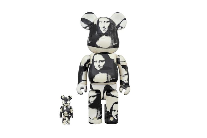 Medicom Toy 以 Andy Warhol 經典作品《Double Mona Lisa》為主題打造全新 BE@RBRICK