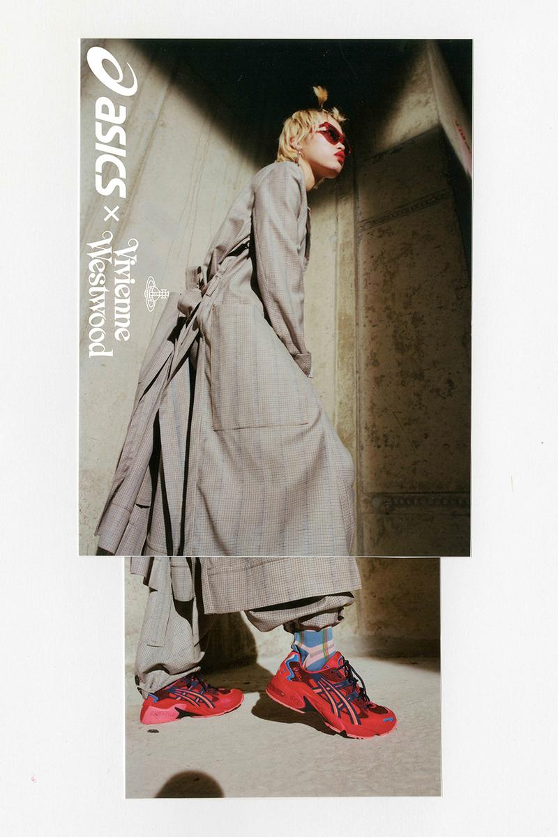 ASICS x Vivienne Westwood 首度聯乘系列台灣發售情報公開