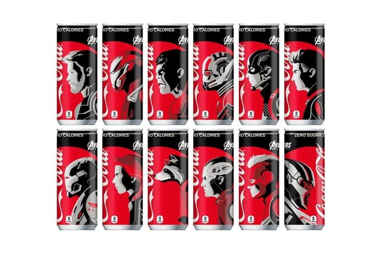 Coca-Cola ZERO 於日本獨家推出《Avengers: Endgame》特別包裝
