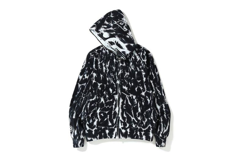 A BATHING APE® 全新紮染特別版 Shark Hoodie 上架