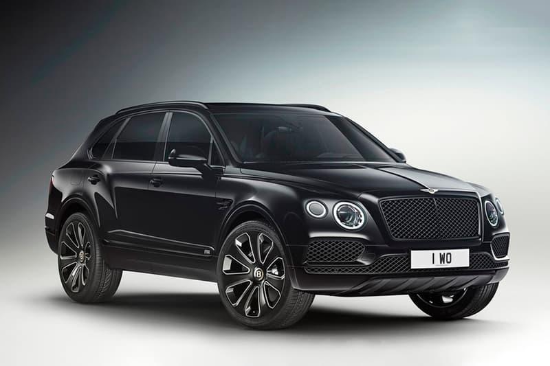 Bentley 推出 Bentayga V8 全新 Design Series 車型