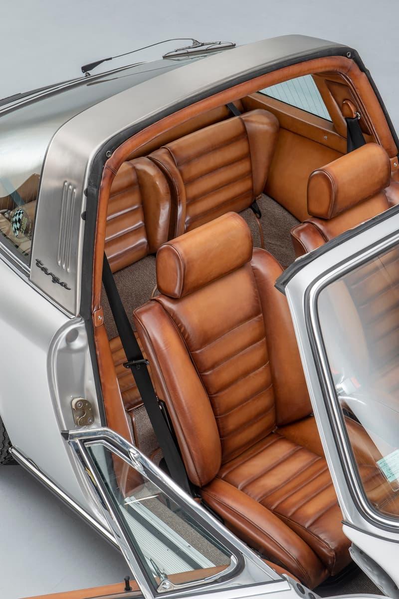 Berluti 打造 Porsche 911 Targa 2.4L「S」定製跑車