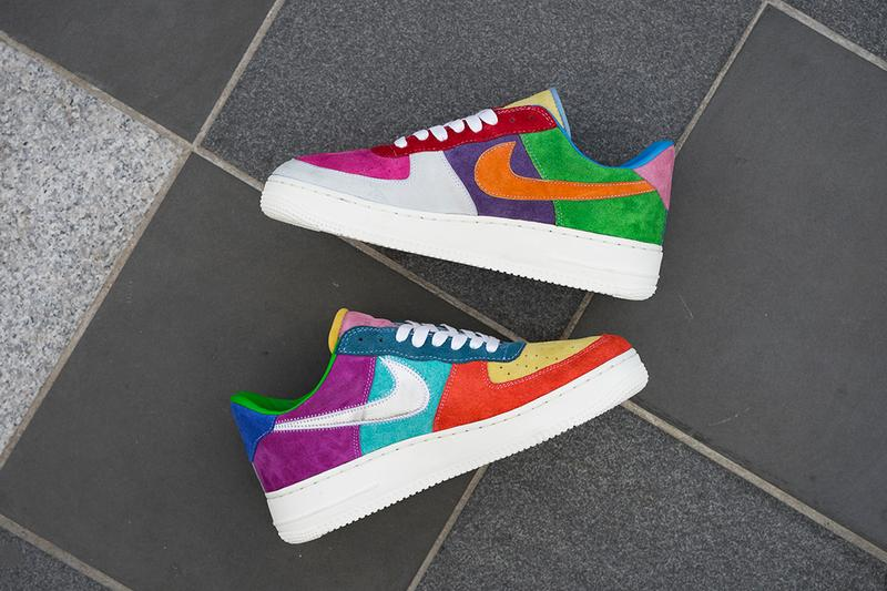 BespokeIND 打造 Air Force 1「What The Swoosh」客製鞋款