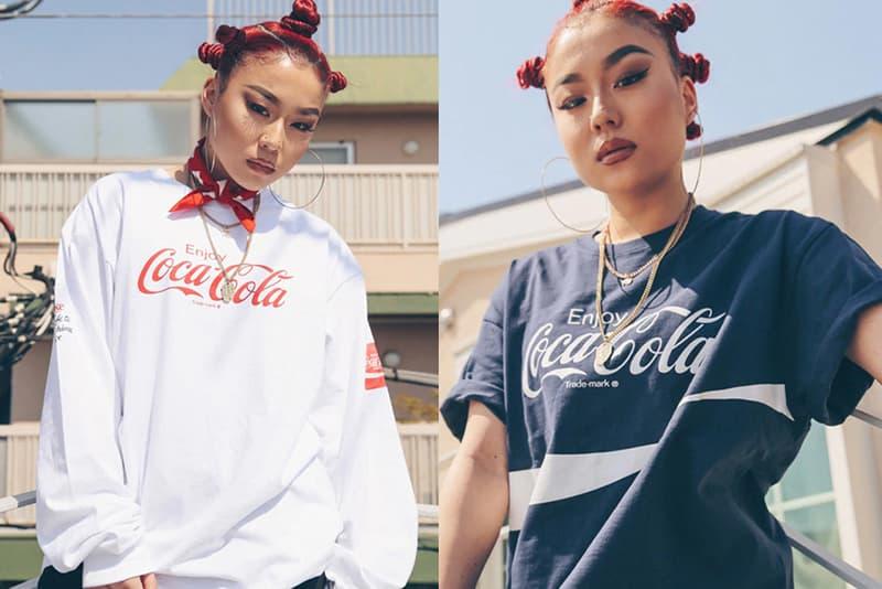 Coca-Cola x atmos LAB 2019 春夏聯乘別注系列上架