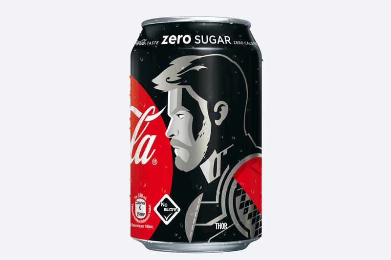 香港可口可樂零系聯乘《復仇者聯盟 4: 終局之戰》推出別注限定版