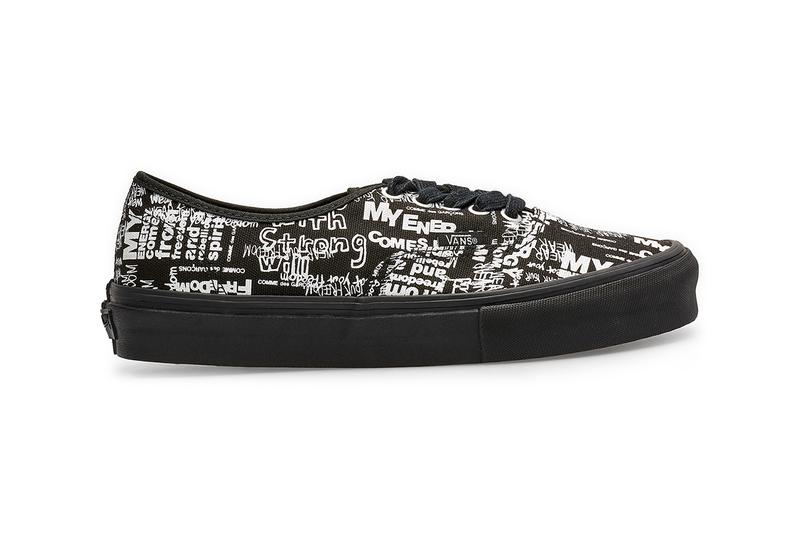 COMME des GARÇONS CDG x Vans 全新聯乘 Authentic 鞋款上架