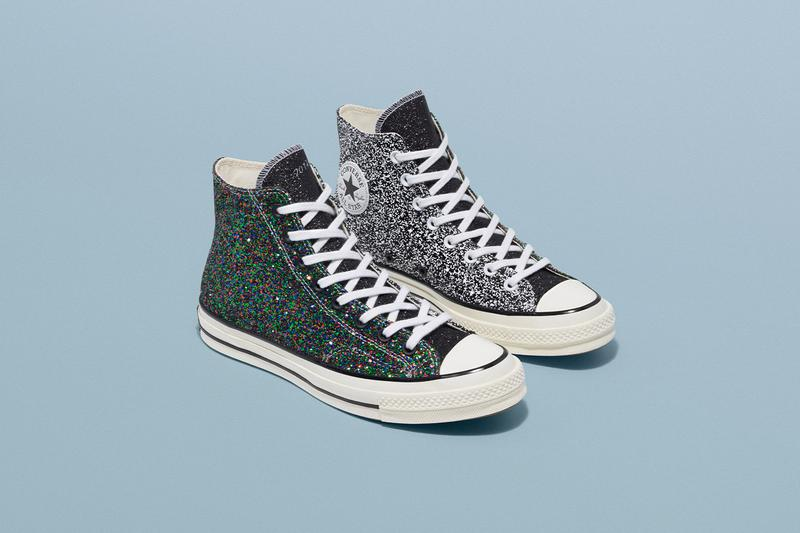 Converse x JW Anderson 全新聯乘 Glitter Chuck 70 及 Run Star Hike 系列正式發佈