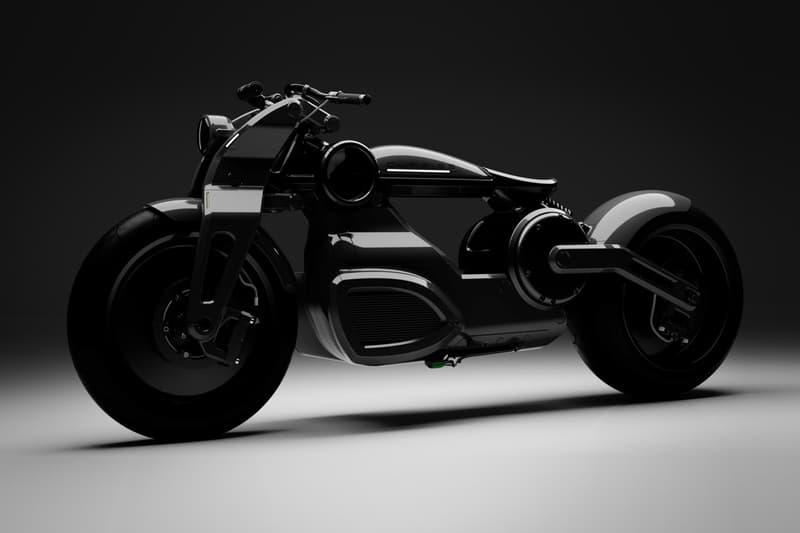 百年車廠 Curtiss 打造全新電能 Zeus Bobber 車型