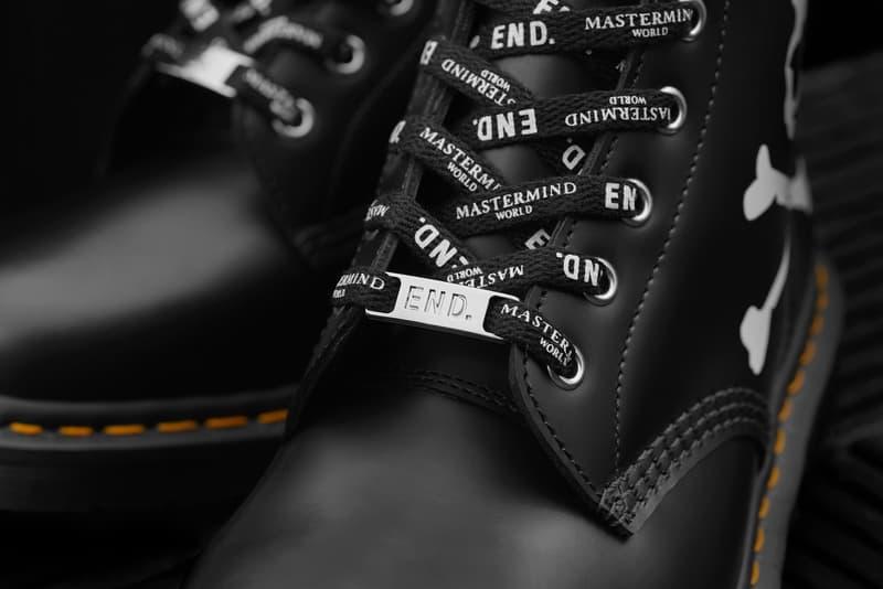 END. x MASTERMIND WORLD x Dr. Martens 三方聯乘 101 Boot 登場