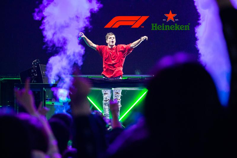 Heineken F1 千站嘉年華狂歡派對震撼來襲