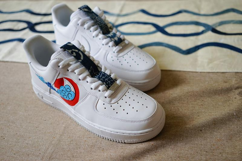 Simple Union 攜手 The Flying Hawk Studio 打造全新客製鞋款 Air Force 1「Ukiyo-E」