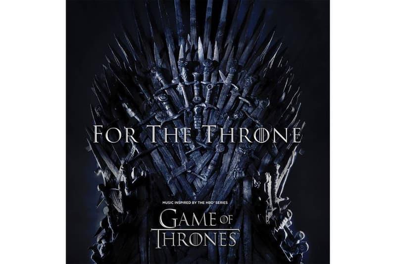 A$AP Rocky、Travis Scott 與 The Weeknd 等領銜《Game of Thrones》主題專輯