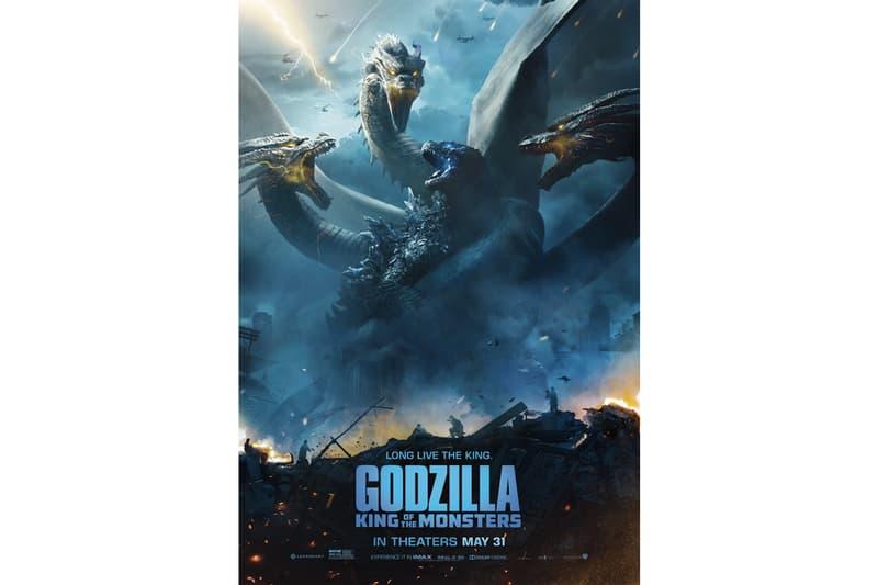 怪獸宇宙.即將到來!《哥斯拉:怪獸之王》最新電影海報釋出