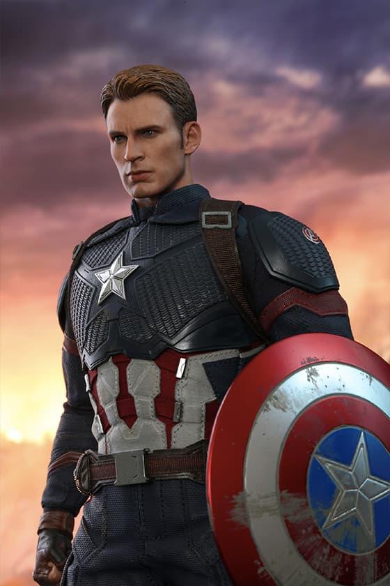 Hot Toys 全新《Avengers: Endgame》版本 Captain America 珍藏人偶已接受預訂