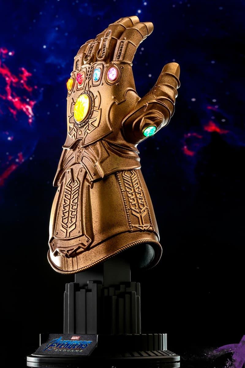 HYPEBEAST 送出 Hot Toys《復仇者聯盟4:終局之戰》無限手套 1:4 比例珍藏品