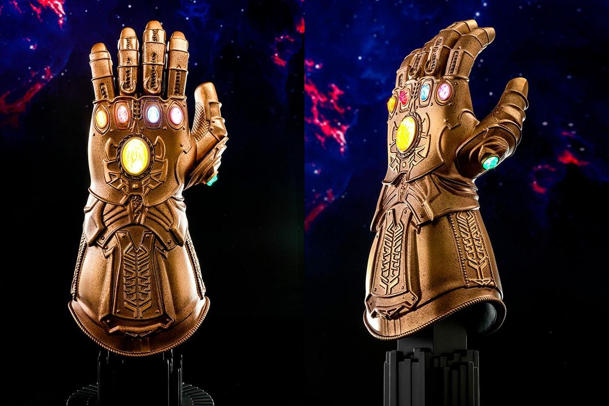 HYPEBEAST 送出 Hot Toys《Avengers: Endgame》無限手套 1:4 比例珍藏品
