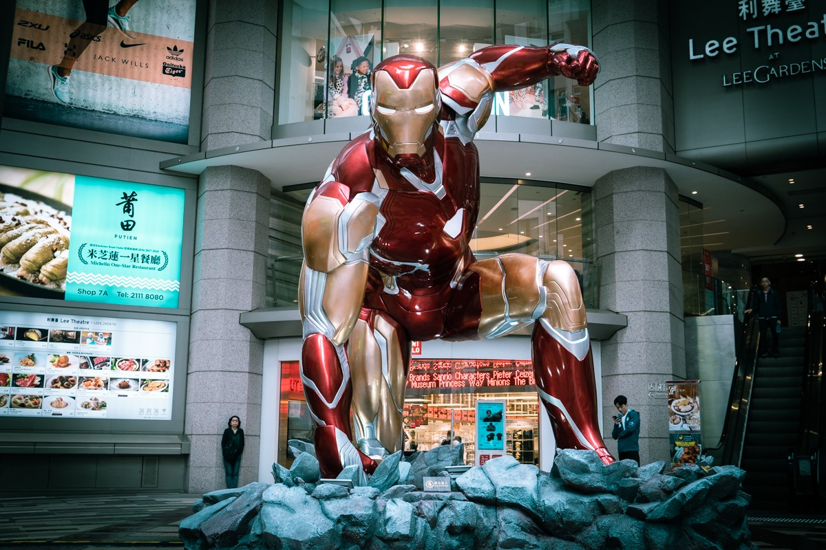 Hot Toys 於香港 Hysan Place 舉行《Avengers: Endgame》展覽