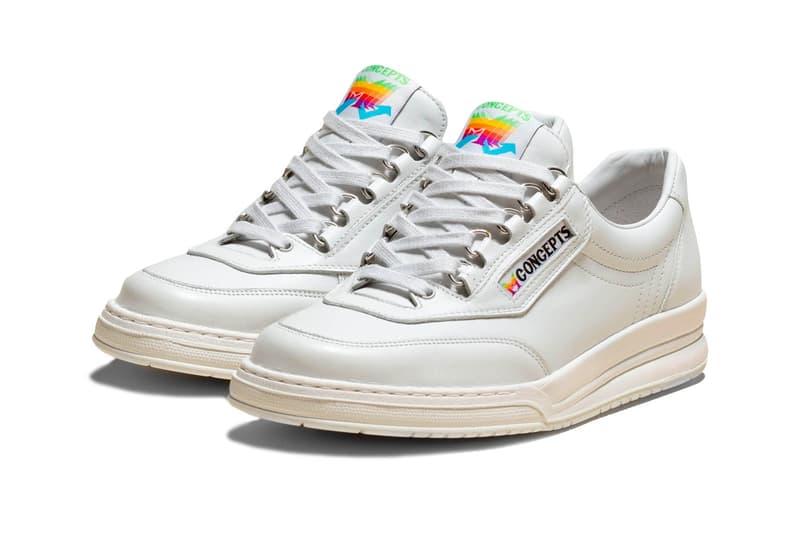 Concepts 聯乘 Mephisto 復刻重塑 Apple 懷舊運動鞋款
