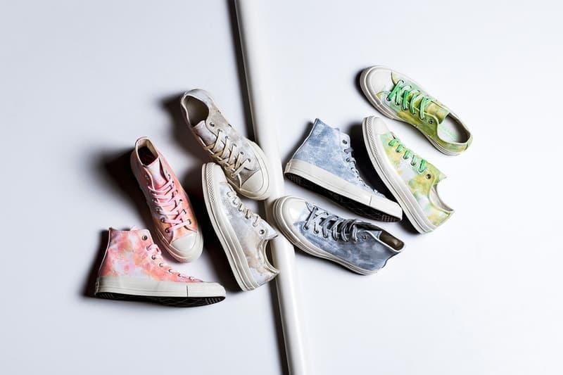 春季迷幻-Converse 推出紮染四色 Chuck 70 系列
