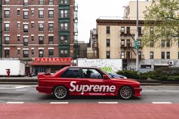 Picture of 玩具實體化!Supreme x Hot Wheels BMW E30 M3 遊走紐約