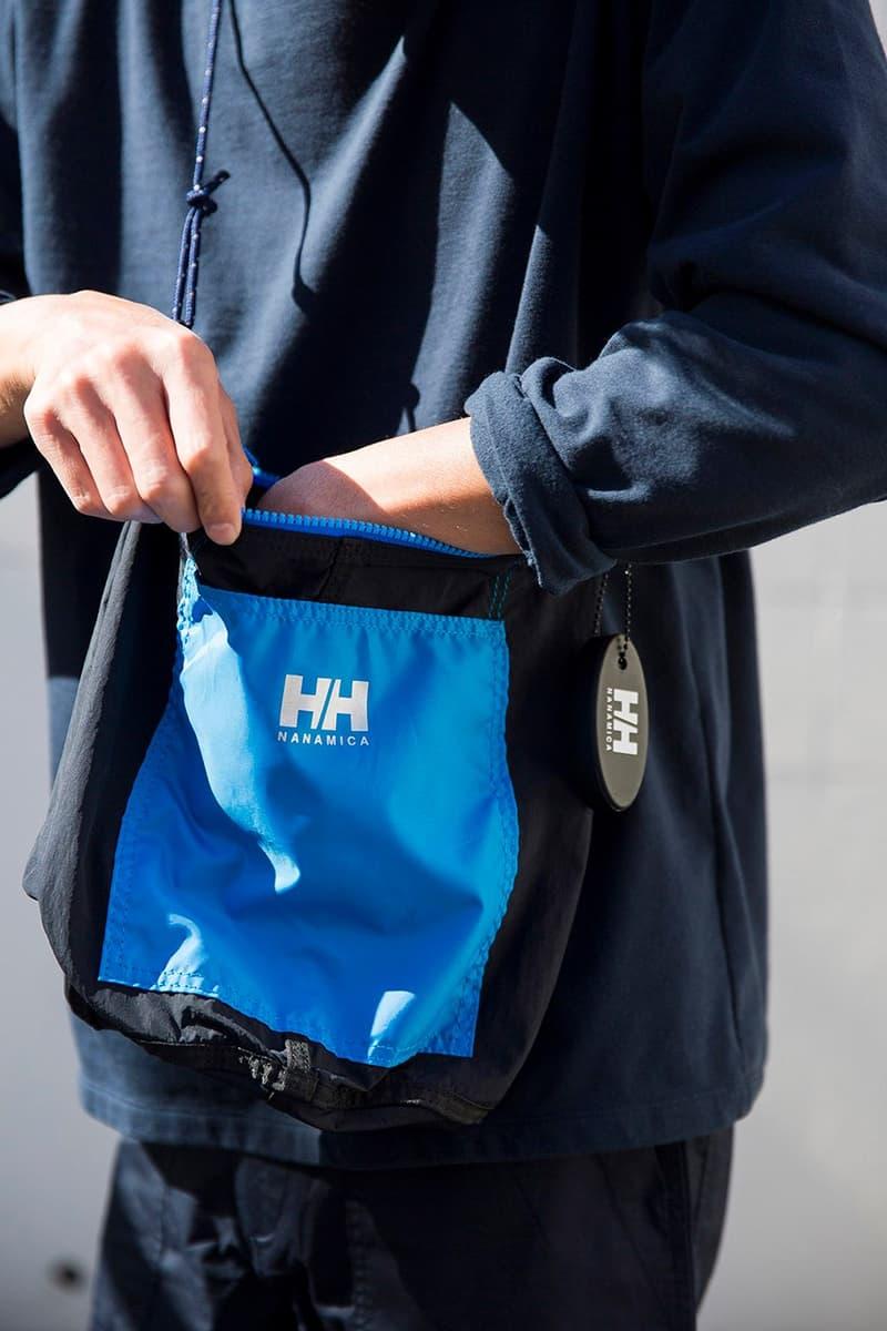 nanamica x Helly Hansen 攜手打造別注袋子系列