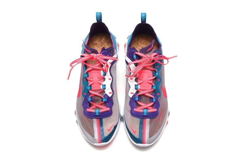 Nike React Element 87 再迎來兩新配色「Red Orbit」及「Orange Peel」