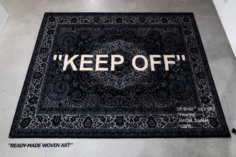 """Virgil Abloh x IKEA """"MARKERAD"""" 聯乘系列確認美國發佈日期"""