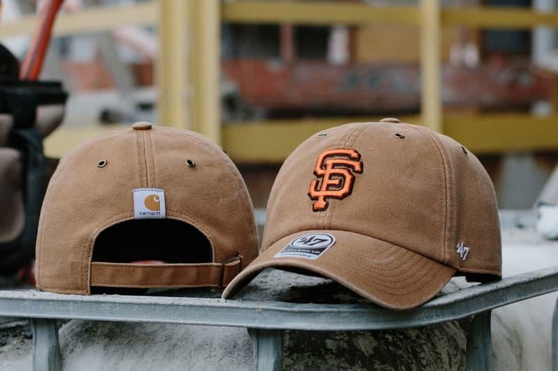 Carhartt x 47 Brand 攜手打造別注 MLB 系列棒球帽