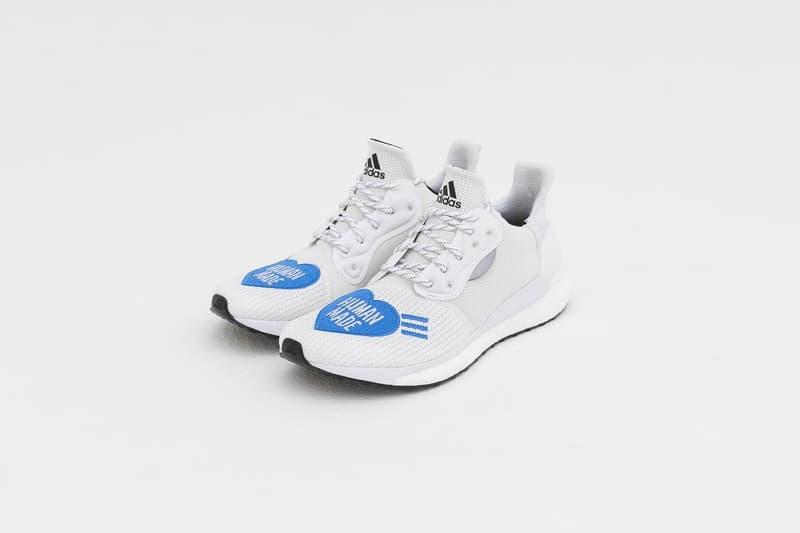 Human Made x adidas PHARRELL 聯乘 Solar Hu Glide 發售日期公開