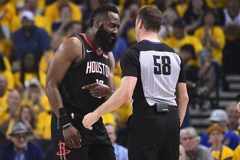 NBA 季後賽 2019 − James Harden 指出裁判多次漏判 Warriors 犯規