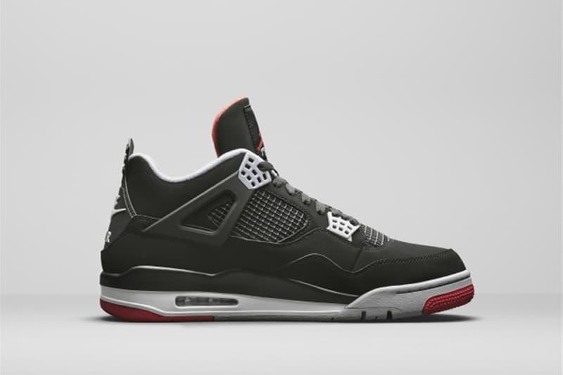 傳奇・再現!Jordan Brand 正式發佈 Air Jordan 4「Bred」最新復刻版本