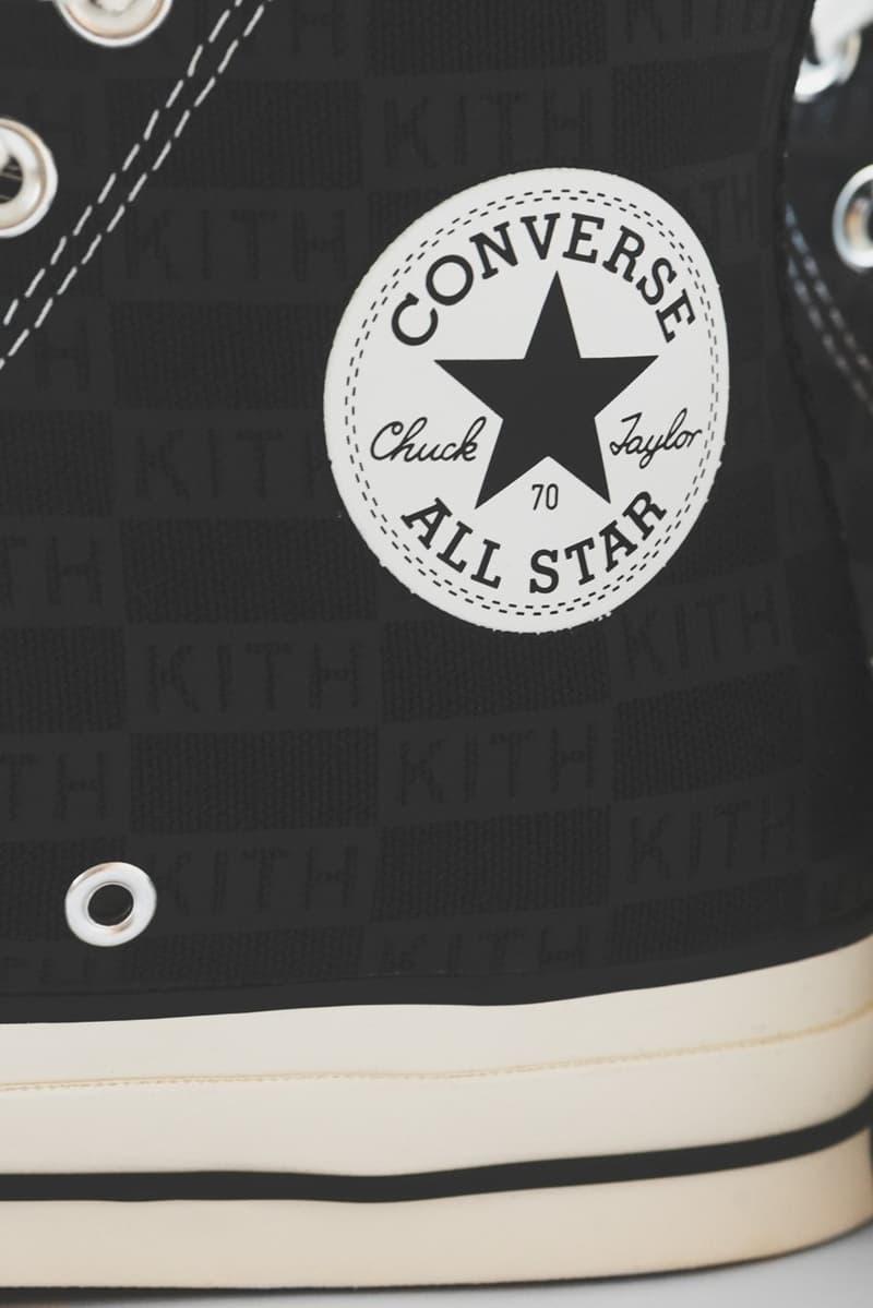 KITH x Converse 迎來全新低調奢華聯乘鞋款