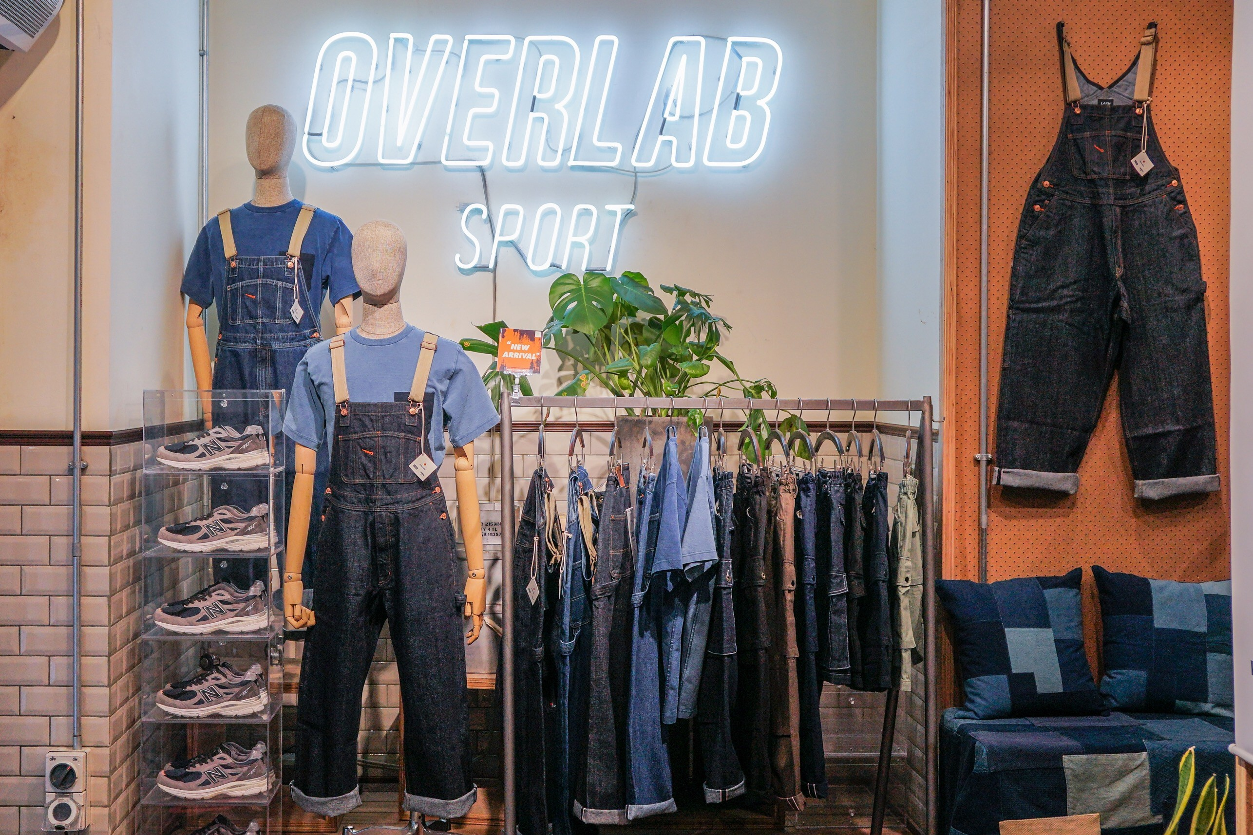 LAKH Supply x OVERLAB Sport 联乘工装系列发布