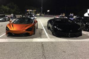 豪車之競速 − Lamborghini Huracan 與 McLaren 720S 展開 Drag Race 對決