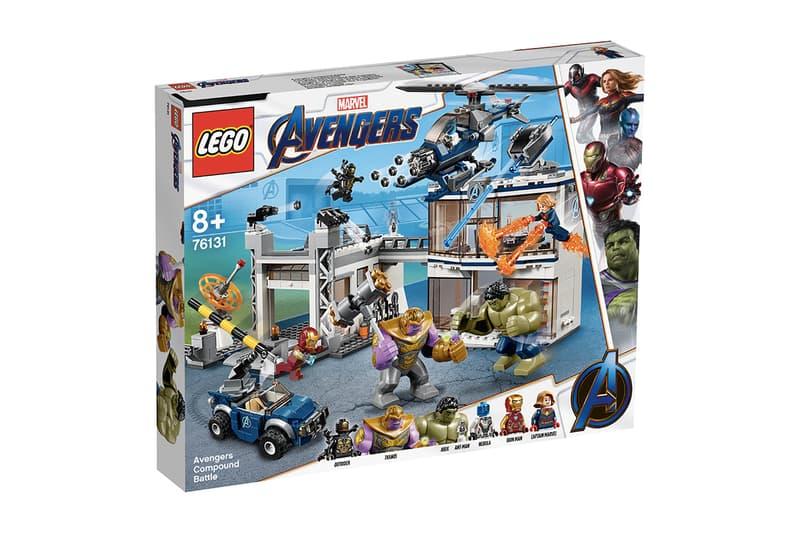 爆雷王者-LEGO《Avengers: Endgame》系列先行上架!