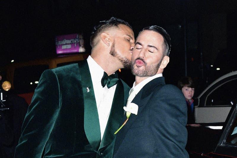 華麗之結婚式-Marc Jacobs 與戀人 Charly Defrancesco 的婚禮圓滿結束