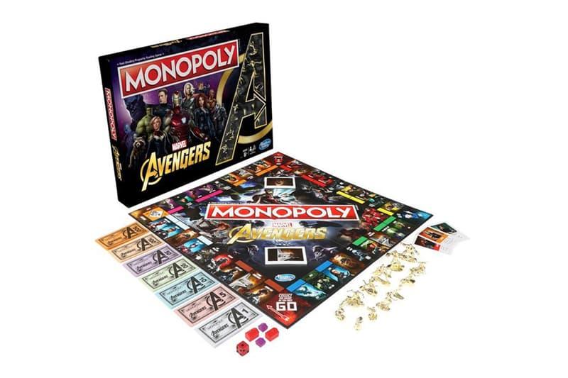 Monopoly x《Avengers: Endgame》全新聯乘版本登場