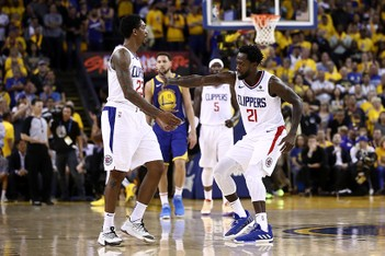 Picture of NBA 季後賽 2019 - Clippers 擊敗 Warriors 將系列賽延長至 Game 6
